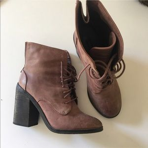 Distressed Booties!